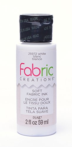 Fabric Creations Fabric Ink in Assorted Colors (2-Ounce), 25972 White
