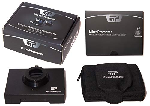 MicroPrompter - World's Smallest Professional Portable Teleprompter for Recording Videos on Your Smartphone, Camcorder or Small DSLR by MicroPrompter (Image #5)