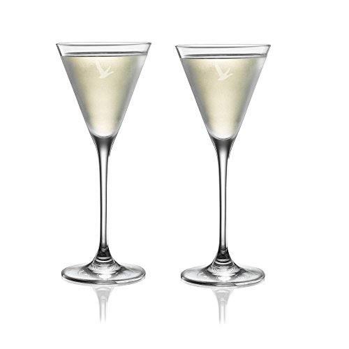 - Grey Goose Martini Cocktail Glasses - Set of 2