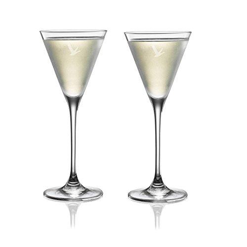 Grey Goose Martini Cocktail Glasses - Set of 2