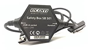 ecom Mobile Safety - Safety Box SB S01 Intrinsically Safe USB Charger Cable