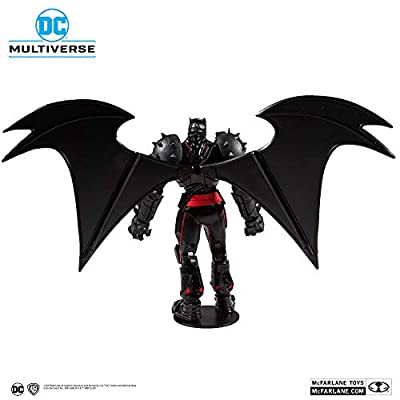 McFarlane Toys DC Multiverse Batman: Hellbat Suit Action Figure, Multicolored: Toys & Games