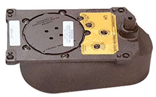 CRL Rixson Model 28 Center-Hung 105 Degree Selective Hold-Open Floor Mounted Closer Body Only - Left - Floor Body Closer
