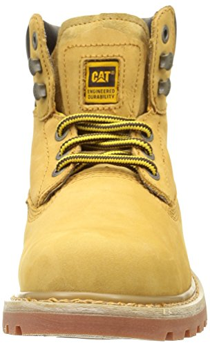 Caterpillar Holton Soft Toe Ob E Hro Src - Botas Hombre Amarillo (Honey)