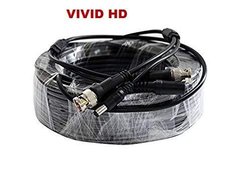 Premade - Cable coaxial RG59 para cámaras HD-SDI HD-TVI HD-CVI ...