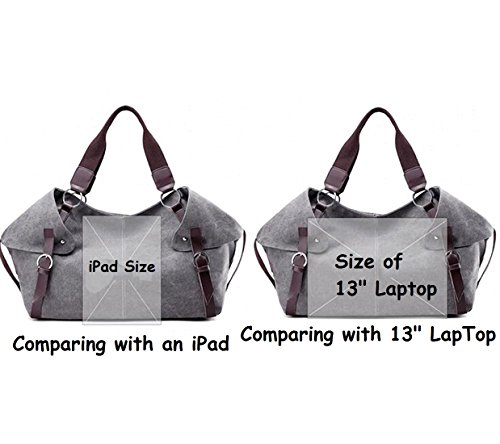 Handbag Fansela New Hobo Purple Crossbody TM Bags Women Shoulder Canvas qrYxUpSwr