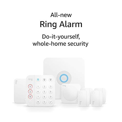 Ring Alarm 8-piece kit (2nd Gen) – home security system with optional 24/7 professional monitoring – Works with Alexa 1