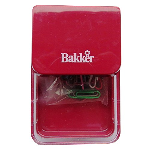 Paper Clip Holding Case With Magnetic Dispenser & Paper Clips