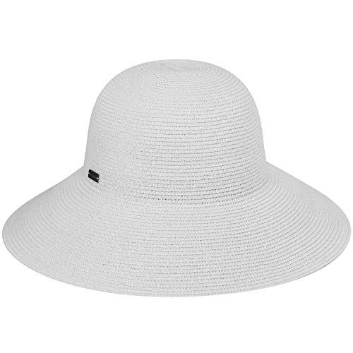 Betmar Women's Gossamer Sun Hat, White, One Size