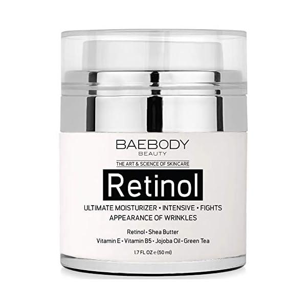 Baebody Retinol Moisturizer Cream with Retinol, Jojoba Oil & Vitamin E, 1.7...
