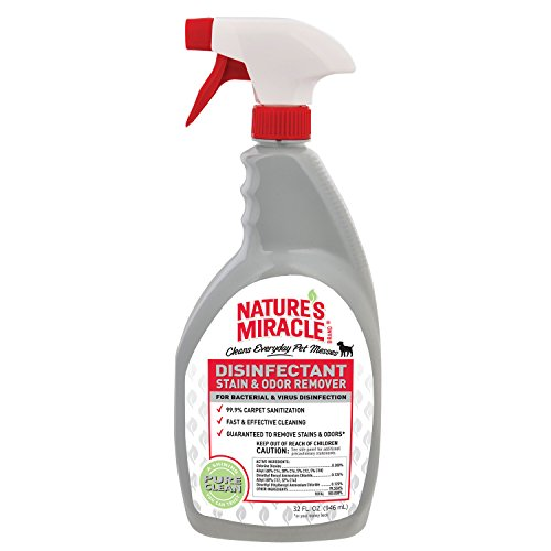 Nature's Miracle NM-5479 Brand Disinfectant Stain/Odor Remover, 32 oz