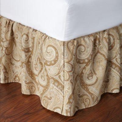 (Ralph Lauren Desert Spa Paisley Queen Bedskirt)