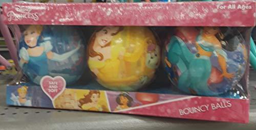 Disney Frozen Bouncy Ball set of 3 Disney Princess Hop Ball