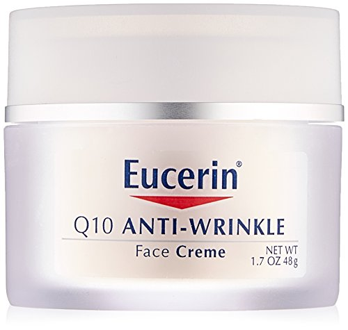 Eucerin Sensitive Skin Experts Q10 Anti-Wrinkle Face Creme 1.70 oz ( Pack of 3)