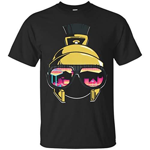 - Looney Tunes Marvin The Martian X Vegas Golden Knights Logo Classic T-Shirt_S_3XL