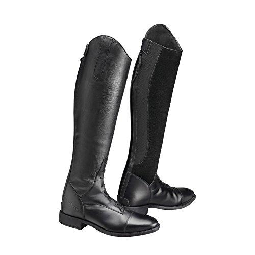 Casoria equitazione Pelle Camoscio Stivali Caldene da Donna Nero aqd7aw