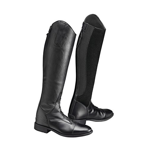 Casoria Leather Womens Boots Long Riding Black Ladies Suede Caldene zqEFZtBz