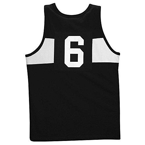 Hombre Nike Lebron BB cruzado tanque LBJ blanco/negro//universidad rojo 607822–�?10 - 607822-010, Black/White//University Red