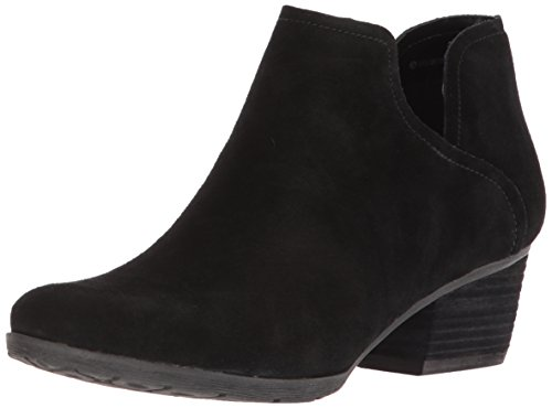 (Blondo Women's Victoria Waterproof Ankle Boot, Black Suede, 8 M US)
