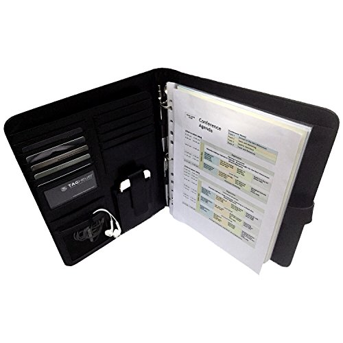 Awesome Executive Resume Padfolio U0026 Portfolio  Best Tools For Interview, Job U0026  Business  Free Gifts U2013 Holds Removable 3 Ring Presentation Folders, Phone,  Legal Pad, ... Regard To Resume Folder