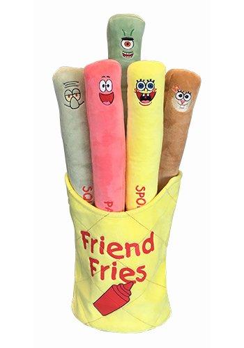 Amazoncom Spongebob Characters Plush Friend Fries Toys Games