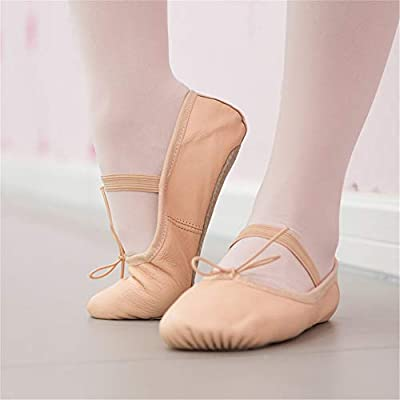 Leather Ballet Shoes Dancing Shoes