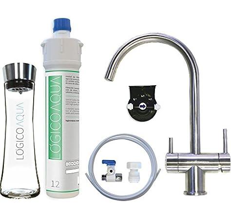 LÓGICO AQUA pack 3 Vías. Filtración de agua para beber y cocinar ...