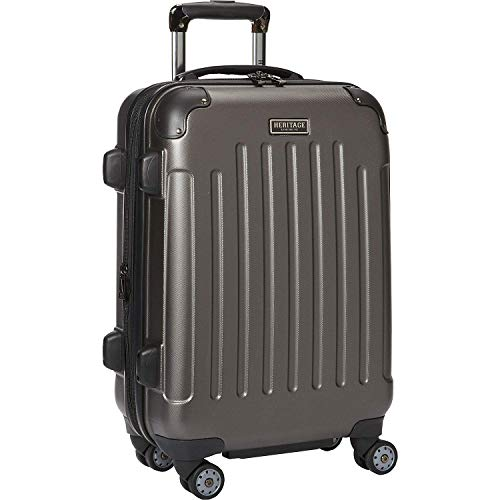 Heritage Logan Square Hardsiandable Spinner Checked Luggage