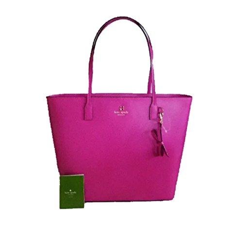 NWT Kate Spade Sawyer Street Tori handbag purse snapdragon pink WKRU3985 - Pink Snapdragons