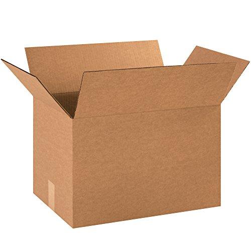 BOX USA B181212500PK Corrugated Boxes, 18''L x 12''W x 12''H, Kraft (Pack of 500) by BOX USA