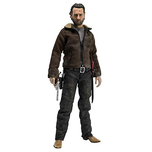 Figure 1/6 the Walking Dead Rick Grimes Threea Preto