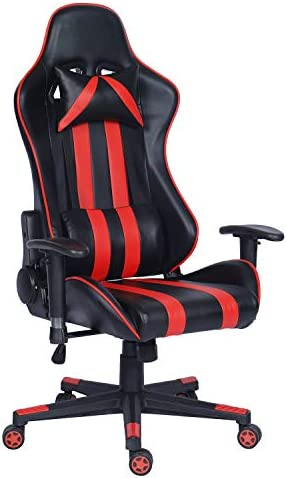 Gaming Chair Ergonomic Design Racing Style Swivel Computer Game Chair