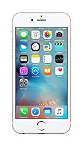 "Apple iPhone 6s - Smartphone libre iOS (4G, Dual-core 1.84 GHz, pantalla 4.7"", cámara 12 Mp, 16 GB, 2 GB RAM), color rosa"