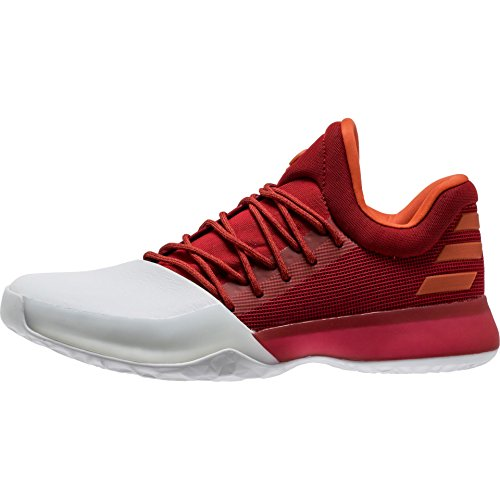 Adidas - Chaussure de Basketball adidas James Harden Vol.1 rouge et blanche Pointure - 45
