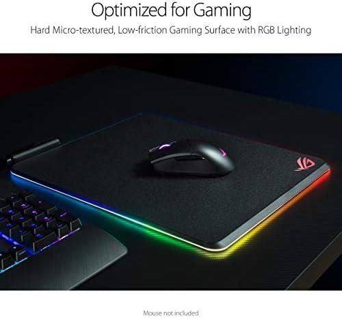 ASUS ROG Balteus RGB Gaming Mouse Pad – USB Port   Aura Sync RGB Lighting   Hard Micro-Textured Gaming-Optimized Surface & Nonslip Rubber Base 414zzsWm8bL