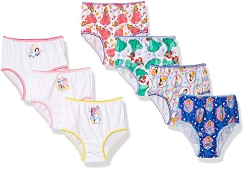 Disney Little Girls Multi 7-Pack Panty