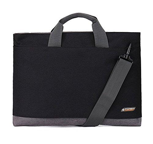 Premium Canvas Shoulder Messenger Bag for Alienware ALW17-8751sLV 17.3-Inch/Acer Aspire V Nitro 17.3 / Aspire V3 / HP Pavilion 17.3 / Toshiba Satellite 17.3