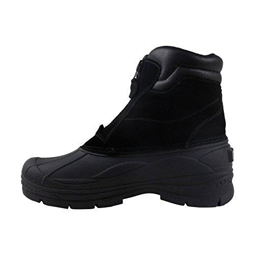 Clarks - Mens Crewson Vibe Low Boot Black