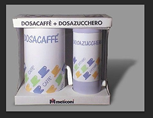 Dispenser Can of Coffee and Sugar