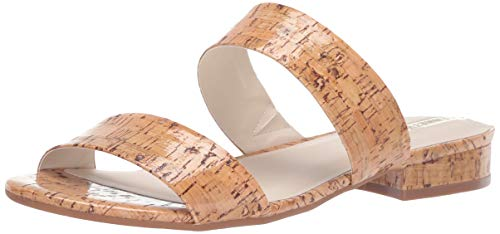 (Kenneth Cole New York Women's 7 Viola Flat Sandal, Natural 8 Medium US)