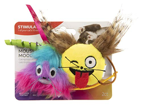 SmartyKat Skitter Critters Catnip Cat Toys Value Pack, 10 Count, Model:9085