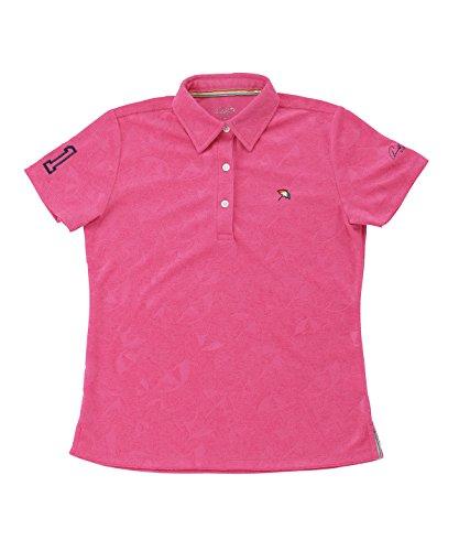 電気気配りのある突き出すアーノルドパーマー レディース ゴルフ ポロシャツ 半袖 傘エンボス半袖シャツ AP220301H03 PI L