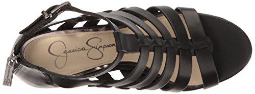 Jessica Simpson Vrouwen Jeyne Wedge Sandaal Zwart