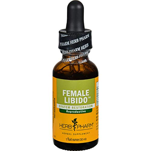 2 Pack of Herb Pharm Female Libido Tonic Compound Liquid Herbal Extract - 1 fl oz