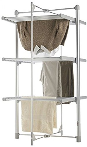 Generic QY-US4-16Apr11-7183310 DRYER Drying ic Laun Clothes AIRER Electri Electric Laundry Heated ted Clo 3 Tier Indoor Indoor Rack Foldable ble 3 Tier Indoor