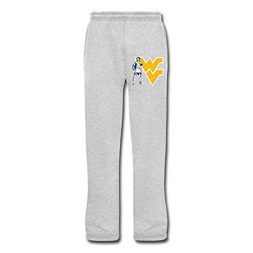 Ash VAVD Male's West Virginia Mountaineers 100% Cotton Sweatpants Size - Mall Fashion Hours