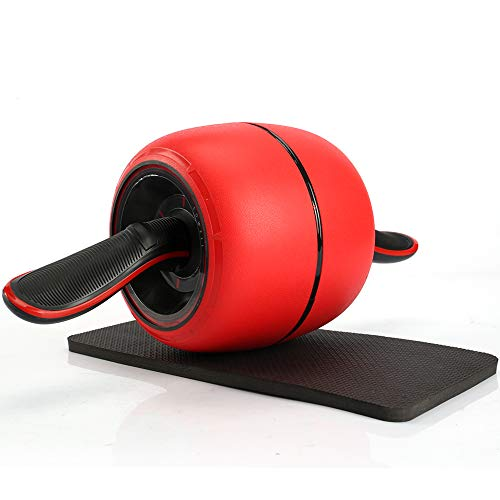 Chambridge Fitness Ab Roller Wheel,Smart Brake and Rebound Knee Pad Included for Core Training and Abdominal Workout
