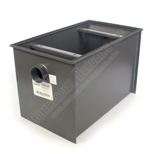 WentWorth 70 Pound Grease Trap Interceptor 35 GPM Gallons Per Minute WP-GT-35