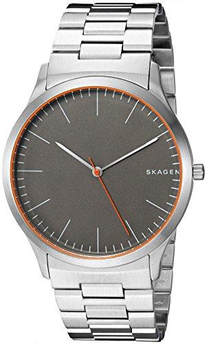 Skagen Men's 'Jorn' Quartz Stainless Steel Casual Watch, Color:Silver-Toned (Model: SKW6423)