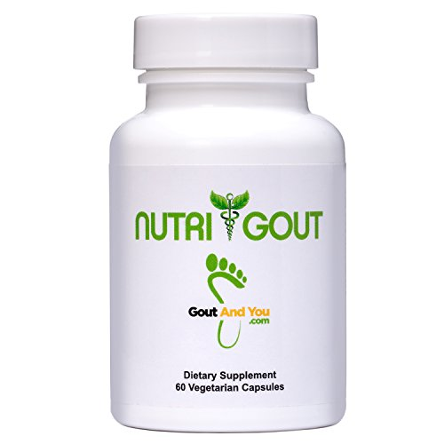 NutriGout - Uric Acid Support Formula by GoutandYou (Best Selling Author Ever)